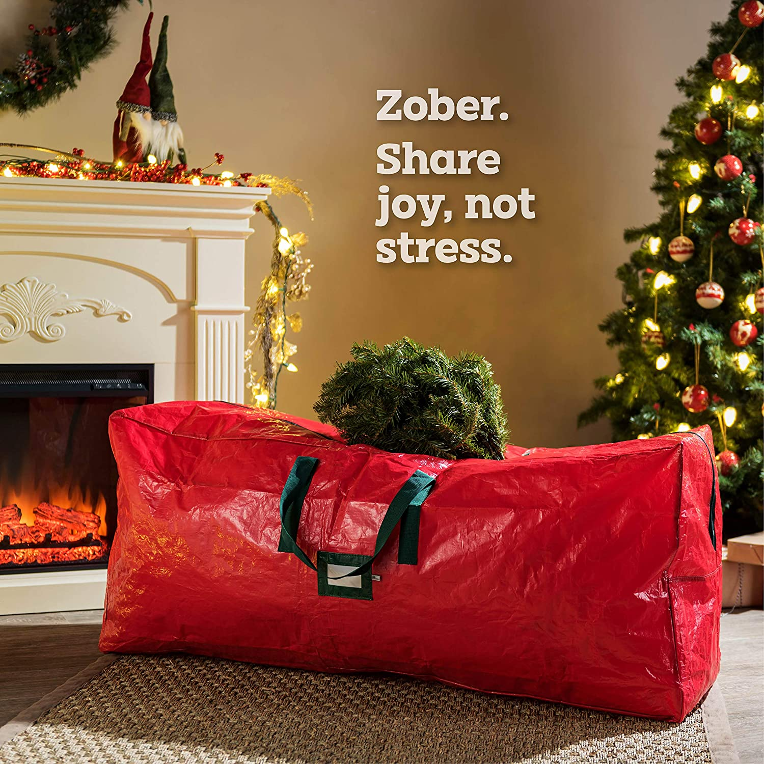 PE Artificial Tree Storage Bag for 9 ft Tree, 30